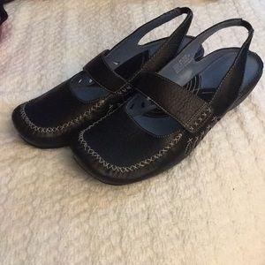 Clarks Indigo Artisan Sling back shoes